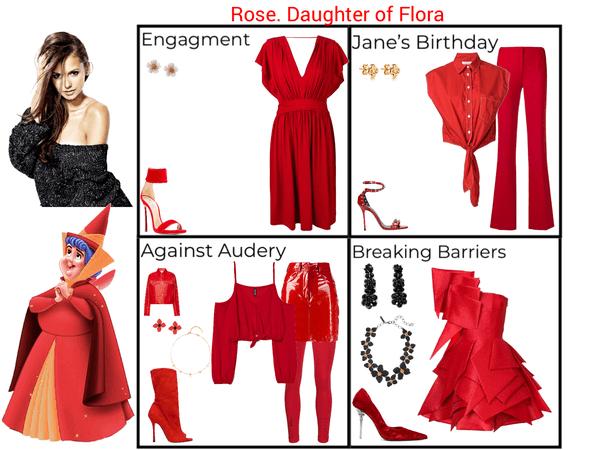 Rose. Daughter of Flora. Descendants 3