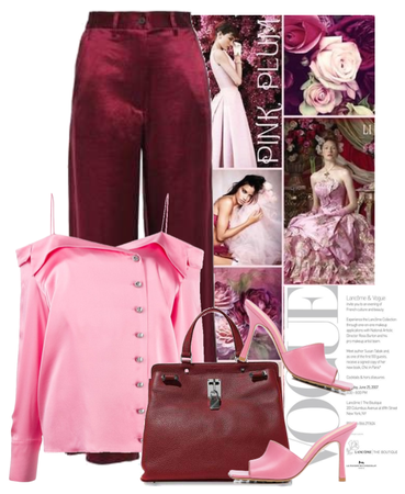 pink and plum