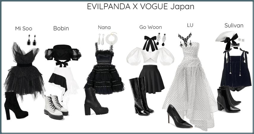 EVILPANDA X VOGUE Japan