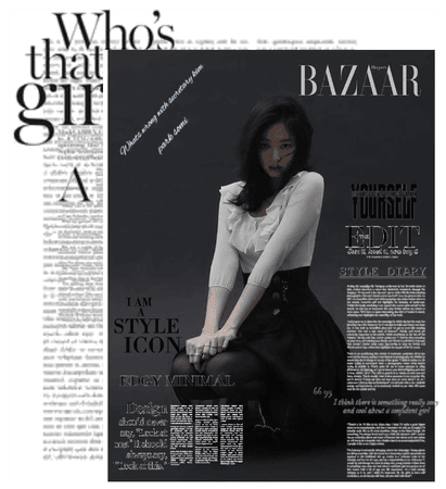 somi for bazaar magazine during you better run