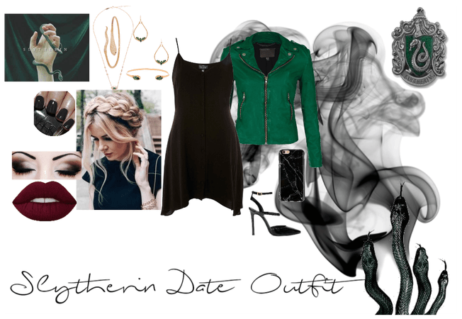 Slytherin Date Outfit