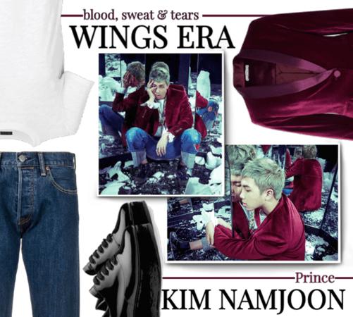 BTS Kim Namjoon inspo