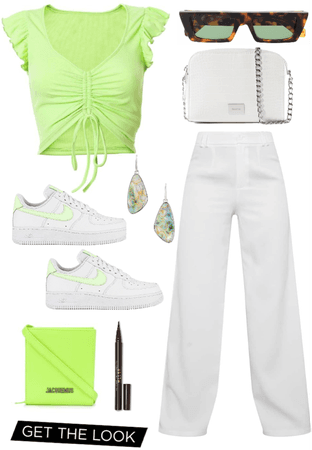 Fancy Neon Color Outfit