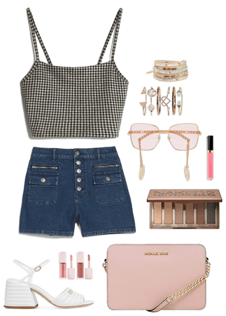 casual summer and rose gold combo 🌹🌷