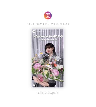 마리오네트 (𝗠𝗔𝗥𝗜𝗢𝗡𝗘𝗧𝗧𝗘) - [SUNNY] AOMG Instagram Story Post