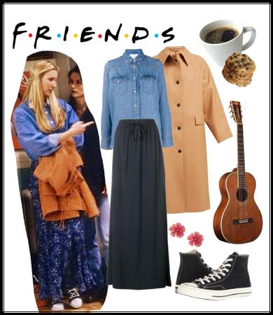 Phoebe Buffay - Denim Shirt