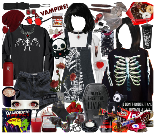 Young Vampire Girl Outfit