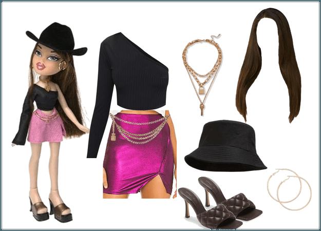 Dana Bratz Character Outfit 🖤