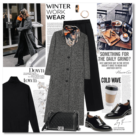 Winter Work Wear: Downtown