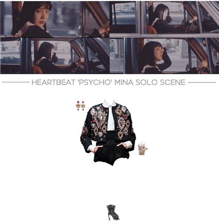 [HEARTBEAT] 'PSYCHO' MINA SOLO SCENE