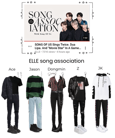ELLE Song Association with Song Of Us (SOU)