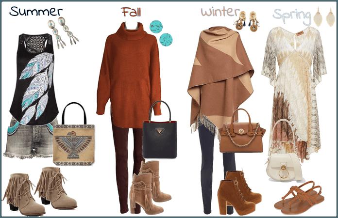 Pocahontas's Wardrobe