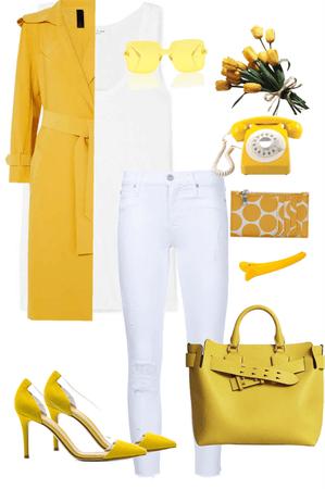 yellow type of mood today