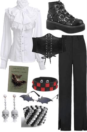 vampire inspired thingie,, i wanna look like this so baddd
