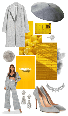 Grey&Yellow