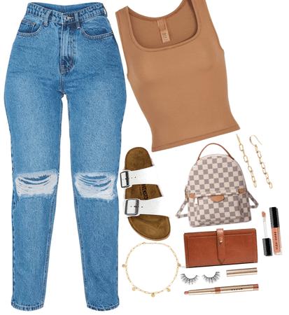 rockin with mom jeans