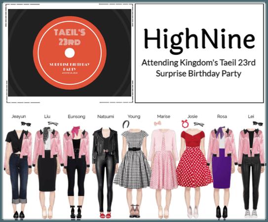 HighNine (하이 나인) Kingdom's Taeil Birthday Party