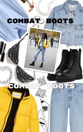 Fall Layering ( Combat Boots )