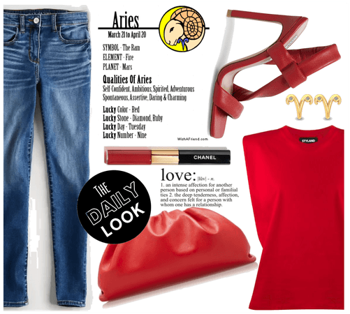 Red is for aries