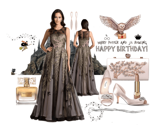Happy Birthday Dress JK Rowling