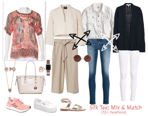 Focus; Silk Tee 12 ways