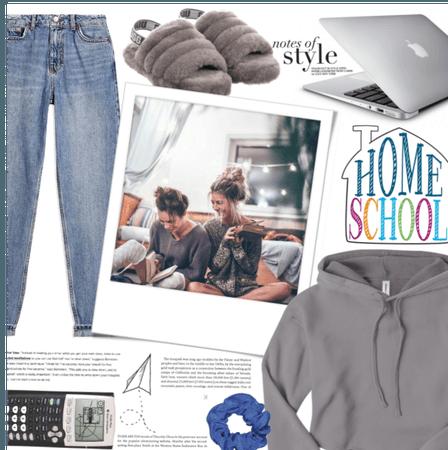 Home-School style.