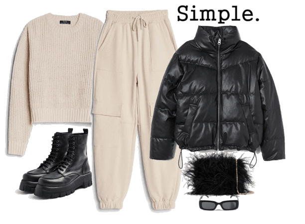 cosy comfy outfit