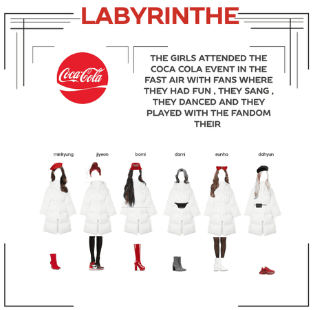 LABYRINTHE on the COCA COLA event