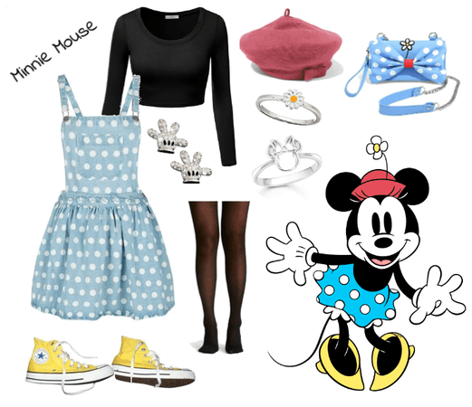 Minnie Mouse outfit - Disneybounding