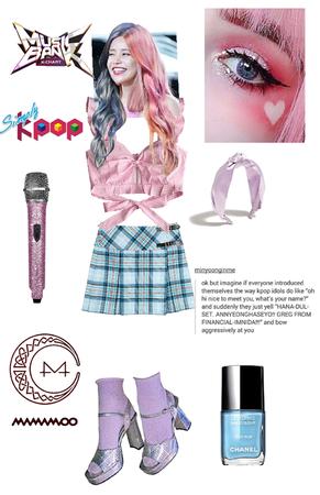 Kpop outfit Mamamoo Solar👑