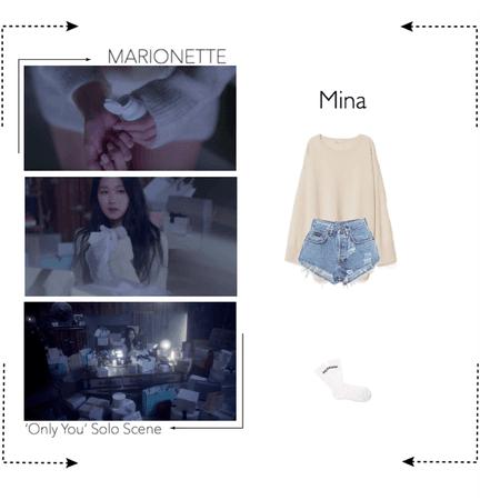 MARIONETTE (마리오네트) [Mina] 'Only You' M/V | Solo Scene