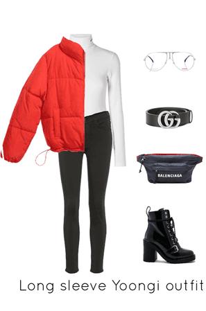 Long sleeve Yoongi outfit