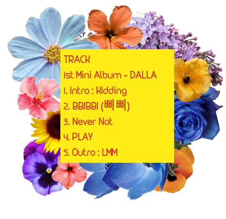 DALLA - First Mini ALBUM