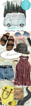 # Travel Awaits # shoplook