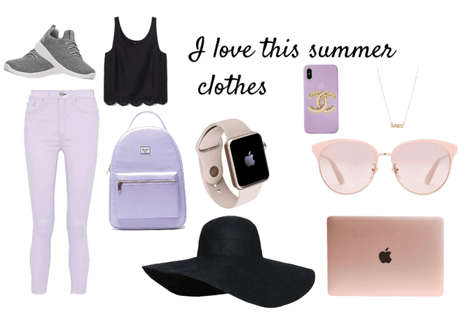 I love this summer clothes