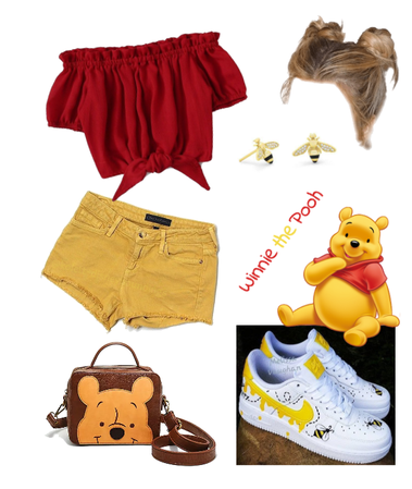 Winnie the Pooh outfit - Disneybounding