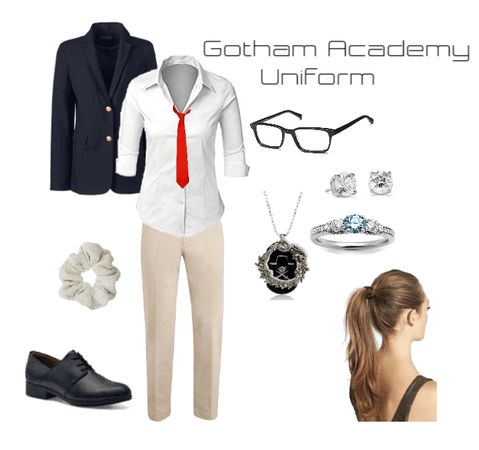 Gotham Academy Uniform