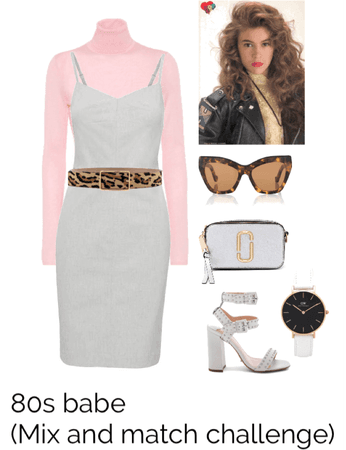 Look 13- 80s babe