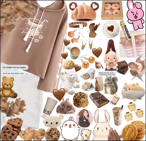 Cookie/Bear/Cute Brown Aesthetic?