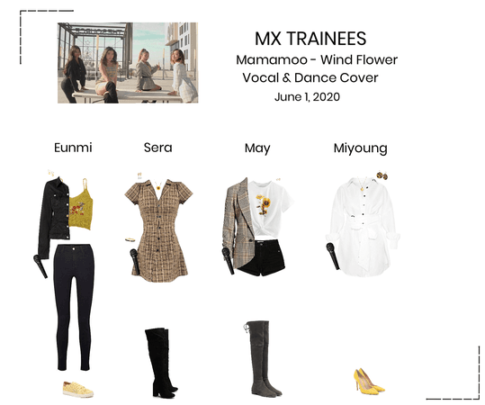 MX TRAINEES - Mamamoo Wind Flower Cover