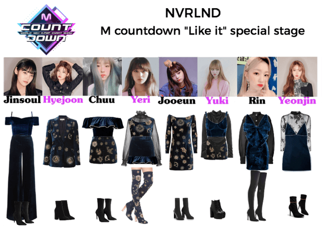 """NVRLND """"Like it"""" M countdown special stage"""