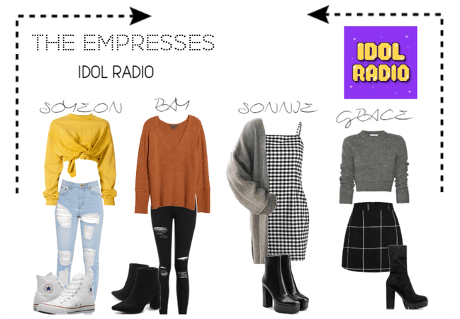 [THE EMPRESSES] ON IDOL RADIO