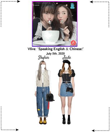 EOT(내일의 황후) | Vlive: 'Speaking English & Chinese!'