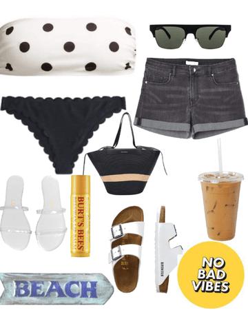 summer beach day