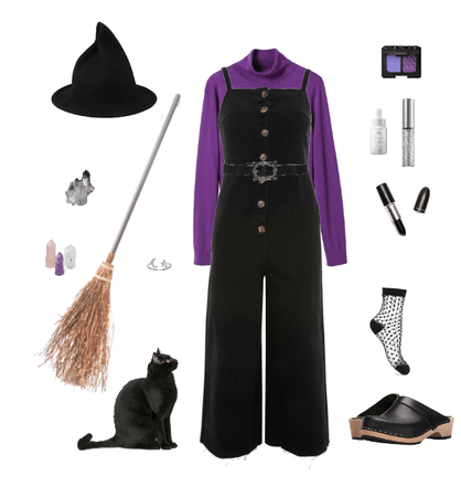 modern witch costume