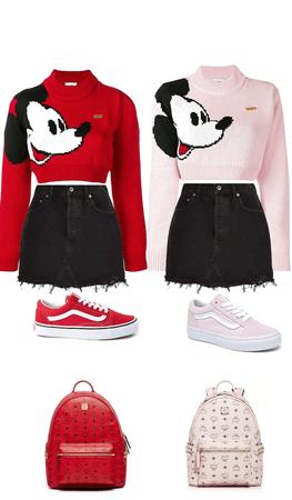 Mickey ❤️ and Minne 💖