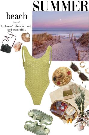 summer beach 🏖
