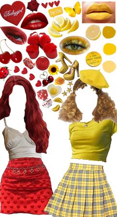 lemon and cherry