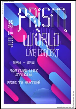 {PRISM} Online Concert Announcement