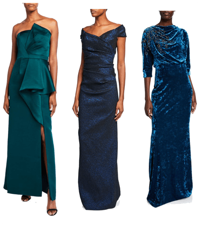 Blue Gowns on Sale at NM
